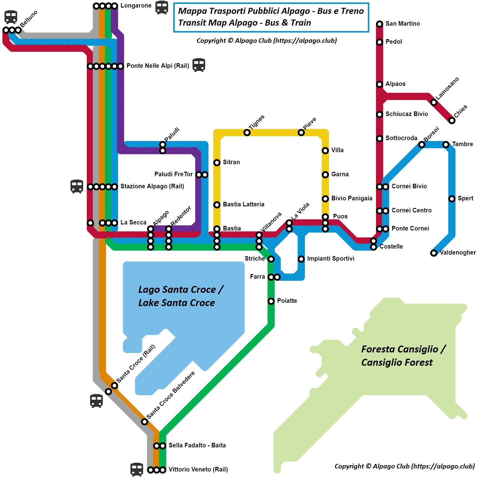 Transit Alpago