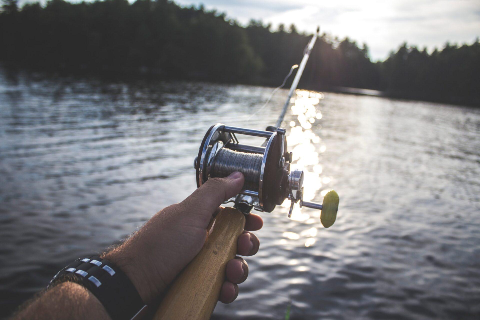 pesca lago santa croce